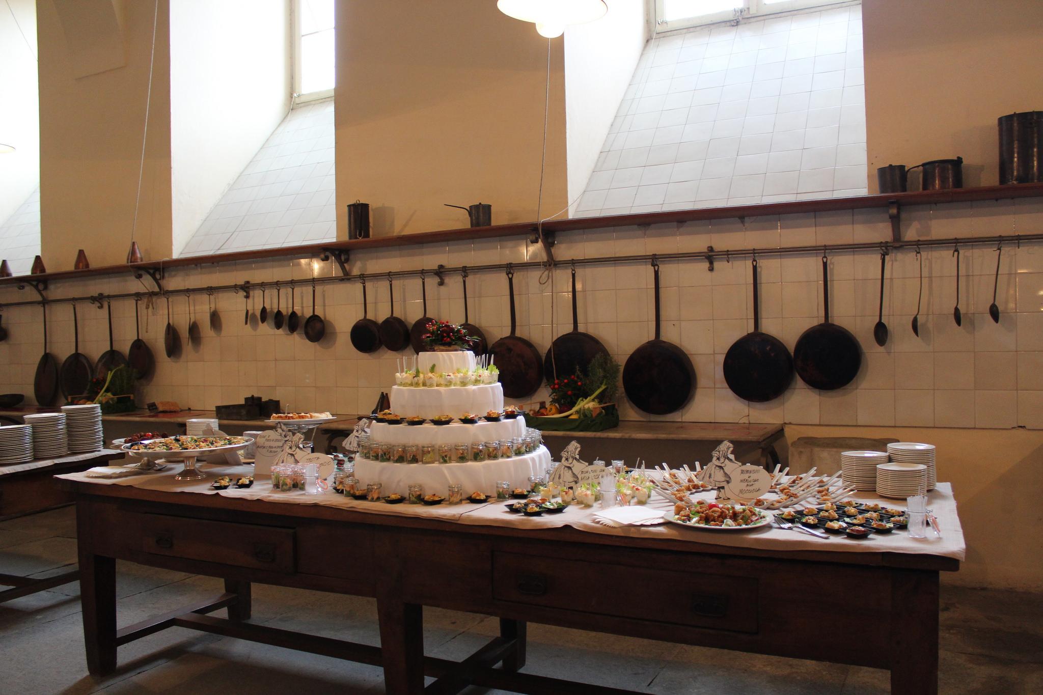 Bottega Reale anima le antiche Cucine Ottocentesche del Castello ...